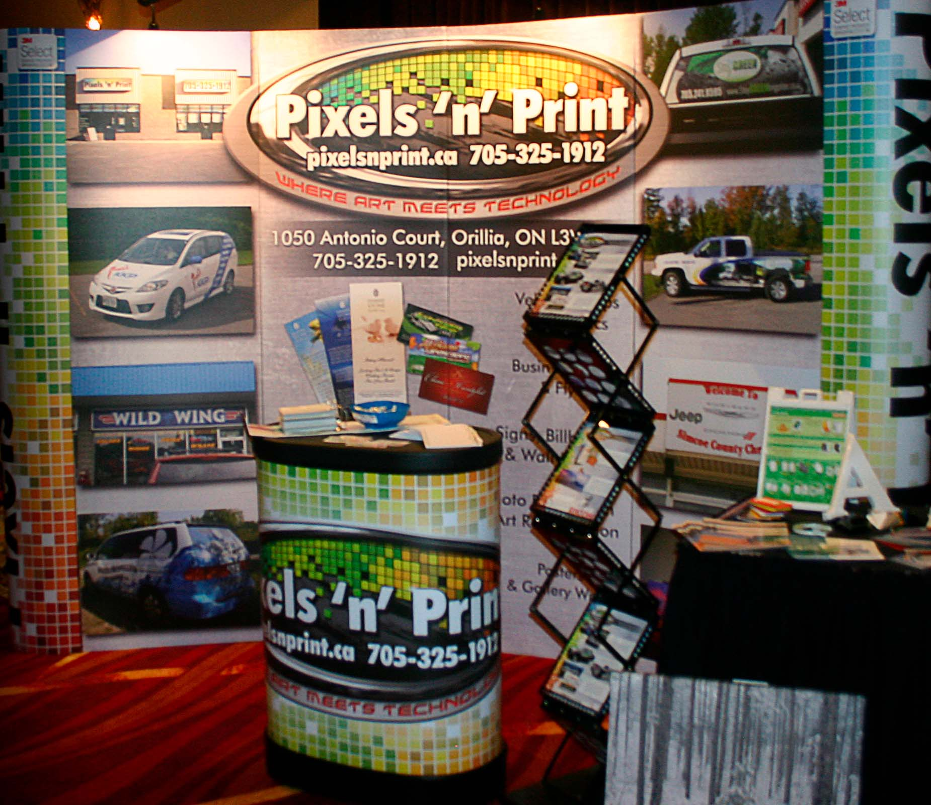 example of trade show signage